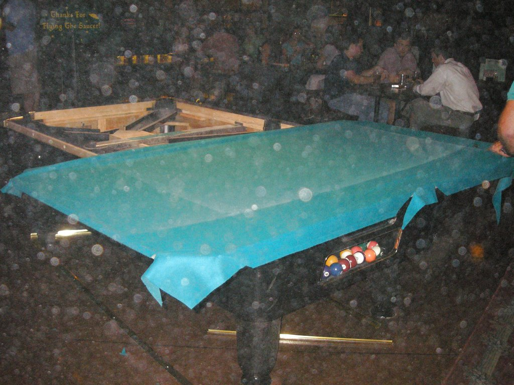 What I Did Last Night Watched A Pool Table Get Taken