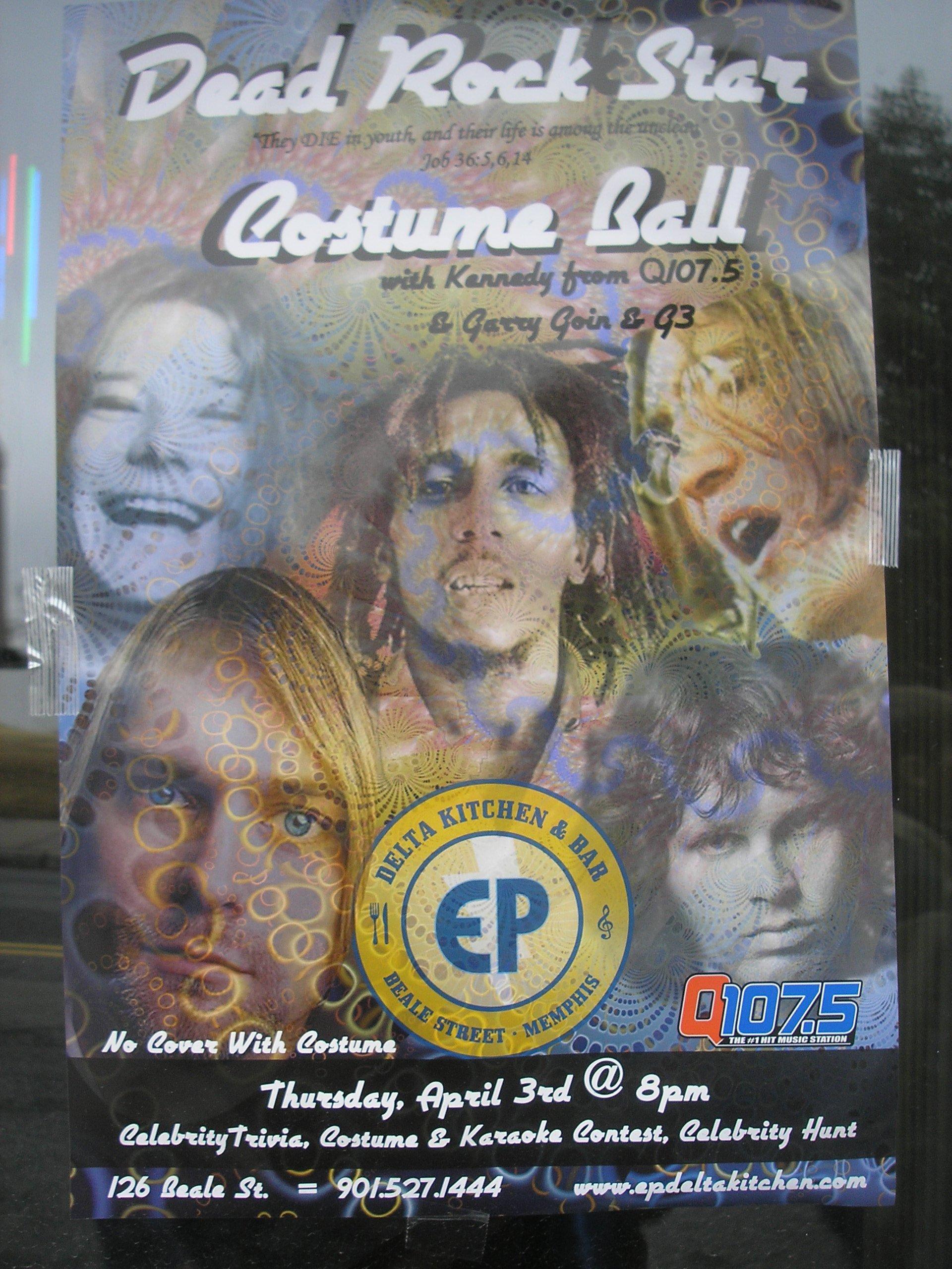 Party Like A Dead Rock Star Paul Ryburn S Journal